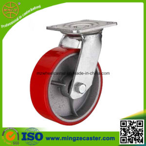 Heavy Duty Industrial PU on Iron Castor Wheel pictures & photos