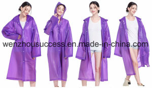 Custom Printed PVC Rain Poncho, Full Color Printing Rain Poncho pictures & photos