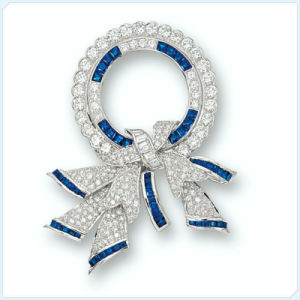 New Design Bowknot Shaped Fashion Jewellery Brooch