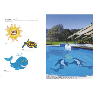 Swimming Pool Design Made of Glass Mosaic Tile pictures & photos