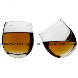 Clear Rolling Whiskey Glass (B-KB002) pictures & photos