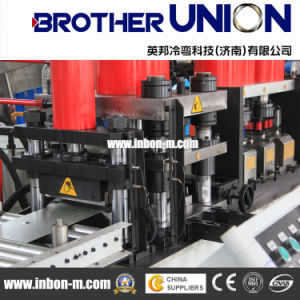 Wood Metal Door Roll Forming Machinery pictures & photos
