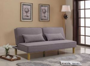 Best-Selling Modern Furniture Floding Fabric Sofa Bed (HC563)