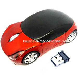 Ferrari 2.4G Car Shaped Wireless Mouse (S-M013)