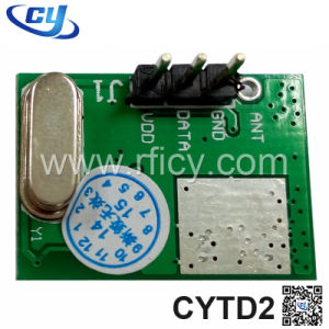 434MHz Ask RF Superheterodyne Wireless Transmitter (CYTD2)