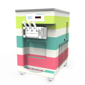 3 Flavor Soft Ice Cream Machine, Ice Cream Machinery (Oceanpower DW132TC) pictures & photos