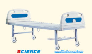 Flat Hospital Bed with Detachable ABS Head and Foot Board pictures & photos