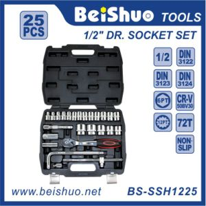 25PC 1/2′′ Dr. Socket Set pictures & photos