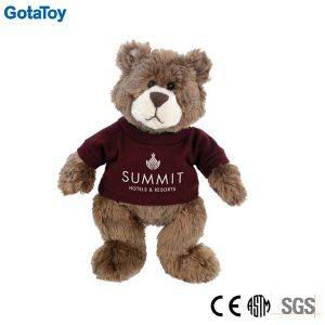 Competitive Price Factory Custom Plush Toy Teddy Bear with Cotton Shirt