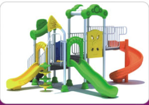Children Outdoor Playground (QQ14036-3) pictures & photos
