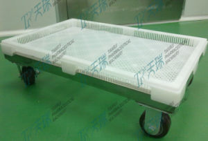 Pharmaceutical Machinery Capsule Cooling Trays with Trolley