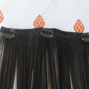 Clip on European Human Hair Weft pictures & photos