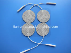 Tens Electrode, Round Shape, 40*40mm