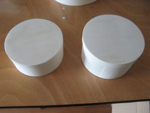 Round Wooden Cheese Box in Factory Price pictures & photos