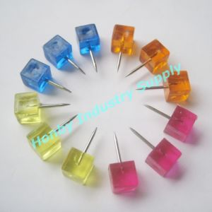 Decorative Colored Clear Plastic Square Push Pins for Pin up on clear map jackets, clear china map, clear map tacks, clear spray adhesive, clear glitter, clear map of germany, clear acrylic, clear hat pins, clear push pins, clear world map,