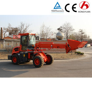 Telescopic Boom Wheel Loader with Quickhitch and Euro III Engine pictures & photos