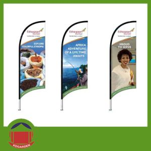 Cheap Custom Advertising Flags Wind Flag pictures & photos