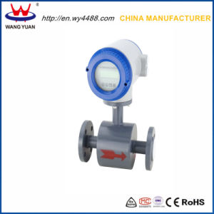 Electrically Conductive Liquids Electromagnetic Flow Meter pictures & photos