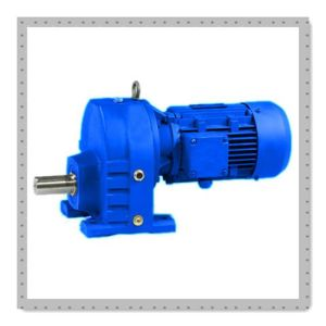 Rx Single-Stage Helical Gear Motor with Motor