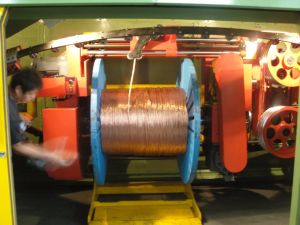Double Twist Bunching Machine for Wire Production Line pictures & photos