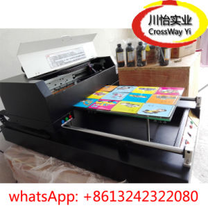 UV Glass Acrylic Plastic Printer with Directly Printing Machine