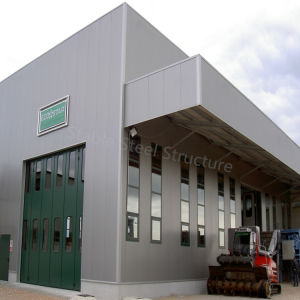 Popular Low Cost Structural Steel House Workshop pictures & photos