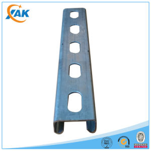 Metal Double Hole Strut Slotted Channel for Gi C Channel Sizes
