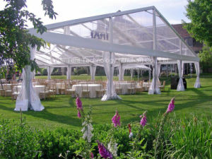 Luxury and Romantic Wedding Marquee in 20m Clear Span with 25m Length