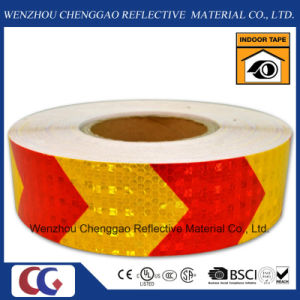 PVC Honeycomb Arrow Design Reflective Sticker Rolls 5cm (CG3500-AW) pictures & photos