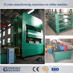 250t Full-Automatic Rubber Vulcanizing Press Machine with PLC Control