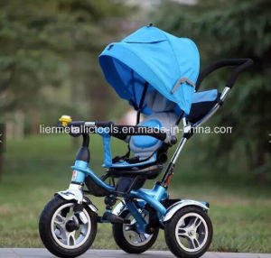 Child 3 Wheel Stroller Rotating Seat Baby Tricycle pictures & photos