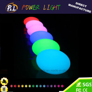 Glowing Illuminated Plastic LED Pool Stone Light pictures & photos