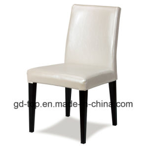 Wood Imitated Wrap Cloth Metal Hotel Chair pictures & photos