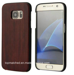 Hot 2016 Hot Selling Mobile Phone Accessories for Samsung Galaxy S7 Wood Case pictures & photos