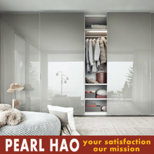 2017 Fashion Euro Style Sliding Door Wardrobe pictures & photos