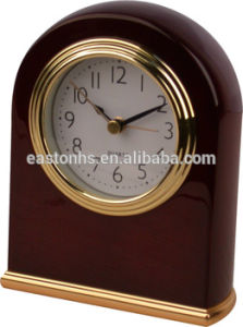Silent Wooden LED Digital Alarm Clock pictures & photos