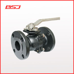 Wcb 150lb Two Piece Flanged Ball Valve
