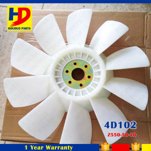 Excavator Engine Spare Parts 4D102 Fan Blade OEM (Z550-50-10) pictures & photos