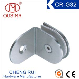 90 degree bathroom partition glass fixing hardware cr g30 - Bathroom Partition Hardware