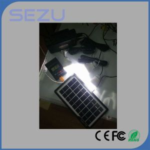 Home Mini Portable 3.5W LED Light Camping Hiking Solar Lighting System