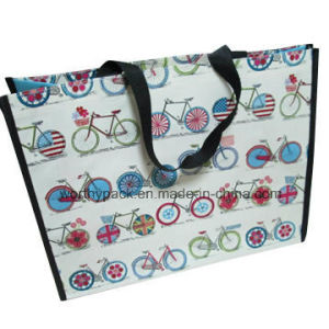 Glossy Laminated Woven Sack with Custom Artwork Printing