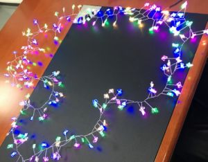 Copper Wire Led String Lights Christmas Outdoor Decoration For Home Starry Strings Led Lamp Fairy Garland Light