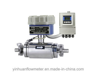 Hoop Collar Divided Type Electromagnetic Flowmeter pictures & photos