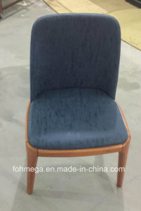 Fabric Cushion Wood Cafe Chair pictures & photos