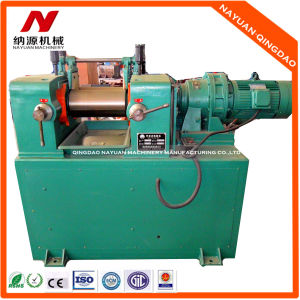 Rubber Mixing Mill (mine type used for text)