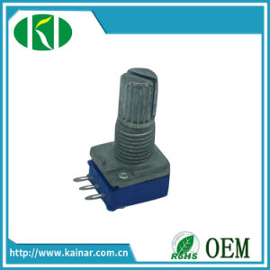 9mm Rotary Potentiometer with Metalshaft Wh9011A-1 pictures & photos