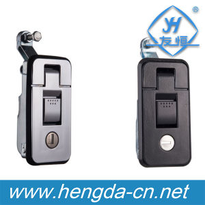 Small Locking Sealed Push Button Lever Latch (YH9619) pictures & photos