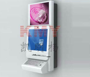 Wall Mounted Touch Screen Mutlimedia Information Checking Kiosk pictures & photos