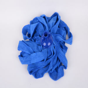 Blue, Microfiber Mop Clean, Beautiful, Durable, Fast Absorption, Strong Decontamination
