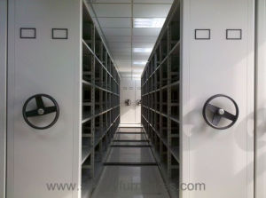 High Density Metal Mobile Shelving pictures & photos